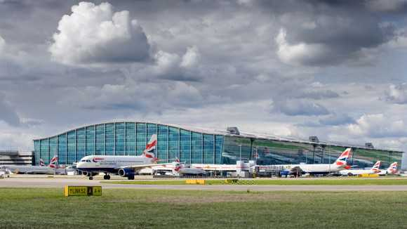 London Heathrow Airport.